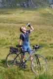 Outdoor biking Stock Image