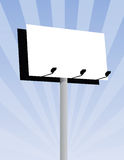 Outdoor Billboard Stock Photography