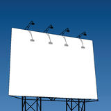Outdoor billboard Stock Image