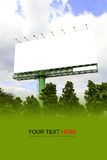 Outdoor billboard Royalty Free Stock Photography