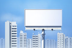 Outdoor Billboard Realistic Stock Image