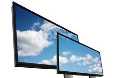 Outdoor billboards Royalty Free Stock Photo