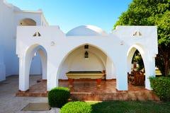 Outdoor billiard at luxury hotel. Sharm el Sheikh, Egypt Stock Photos