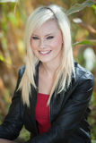 Outdoor blonde portrait Royalty Free Stock Photo