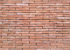 Outdoor brick wall background. Stock Image