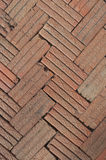 The outdoor bricks floor Royalty Free Stock Images