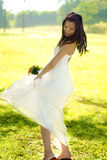 Outdoor Bride Stock Images