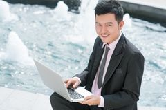 Outdoor business Stock Photo
