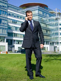 Outdoor Businessman Stock Image
