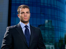 Outdoor Businessman Royalty Free Stock Photo