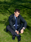 Outdoor Businessman Stock Photos