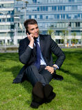 Outdoor Businessman Stock Images