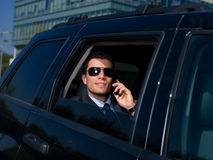 Outdoor Businessman Stock Photography