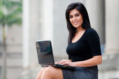 Outdoor Businesswoman Stock Image