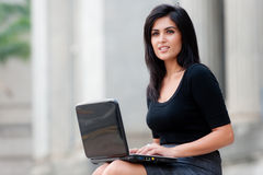 Outdoor Businesswoman Stock Photos