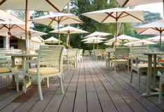 Outdoor café Stock Images