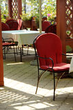 Outdoor  cafe Royalty Free Stock Photo
