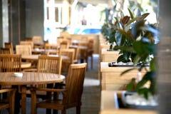 Outdoor Cafe Royalty Free Stock Photos