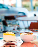 Outdoor Cafe Stock Image