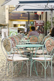 Outdoor Cafe Royalty Free Stock Images