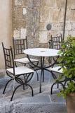 Outdoor cafe i Stock Photos