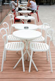 Outdoor cafe leisure Royalty Free Stock Image