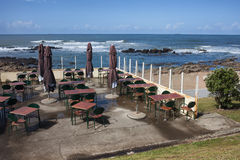 Outdoor Cafe and Restaurant in Porto Stock Photography