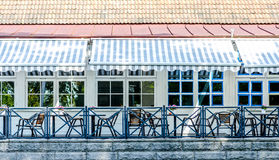Outdoor cafe Royalty Free Stock Photography