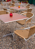 Outdoor Cafeteria Royalty Free Stock Images