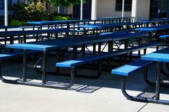 Outdoor Cafeteria Royalty Free Stock Photography