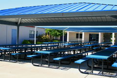 Outdoor Cafeteria Stock Image