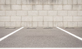 Outdoor car parking lot Stock Photography