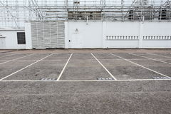 Outdoor carpark Royalty Free Stock Photography
