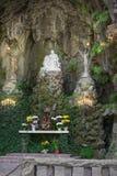 Outdoor catholic shrine Stock Photo