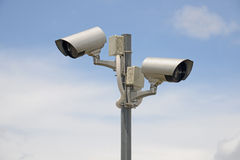 Outdoor CCTV Royalty Free Stock Photos