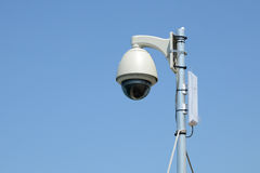 Outdoor CCTV Camera Royalty Free Stock Images