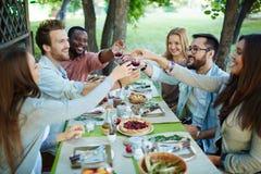 Outdoor celebration Stock Image