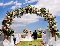 Outdoor ceremony Stock Image
