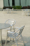 Outdoor chairs Stock Image
