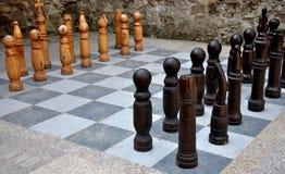 Outdoor chess Stock Photos