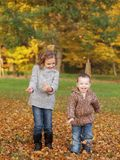 Outdoor children Royalty Free Stock Images