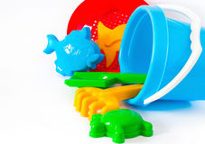 Outdoor children toys Stock Image