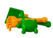 Outdoor children toys Stock Photo
