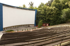 Outdoor cinema Stock Photos