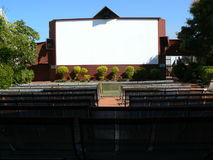 Outdoor cinema Royalty Free Stock Images