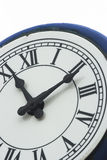 Outdoor Clock 1. Eleven minutes past eleven on outdoor clock Stock Images