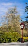 Outdoor clock Stock Photography
