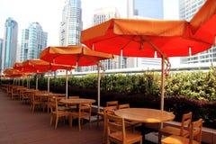 Outdoor coffee bar,shanghai Royalty Free Stock Image