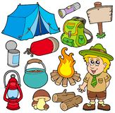 Outdoor collection Royalty Free Stock Image