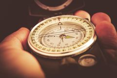 Outdoor Compass Orientation Royalty Free Stock Image